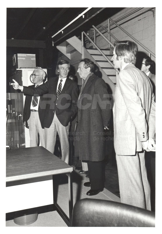 Corporate Services- Visit of French Ambassador Touring Hydraulics Lab 1981 012