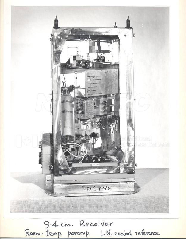 Astrophysics- 9.4 cm Receiver c.1969