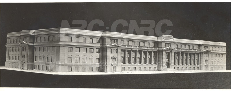 100 Sussex Drive Architects Model 1930 002
