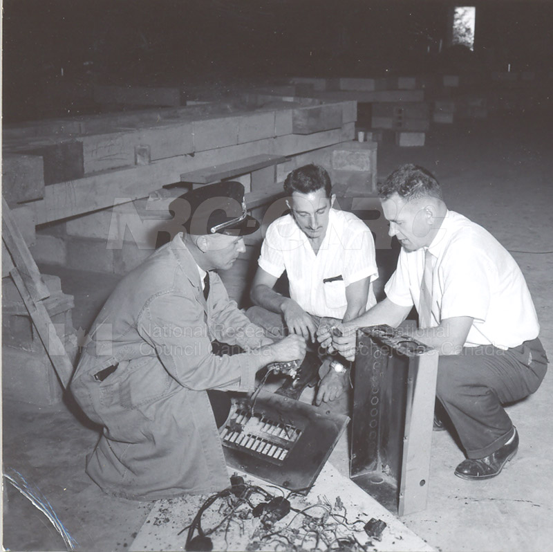 Fire Prevention Section Activities (Mr. Luke) 1950s+60s 002