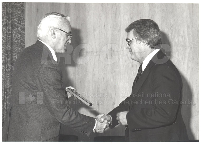 25 Year Service Plaques Presentations 1983 042