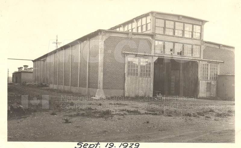 Sussex St. and John St. Labs- Album 2-Wind Tunnel Sept. 19 1929