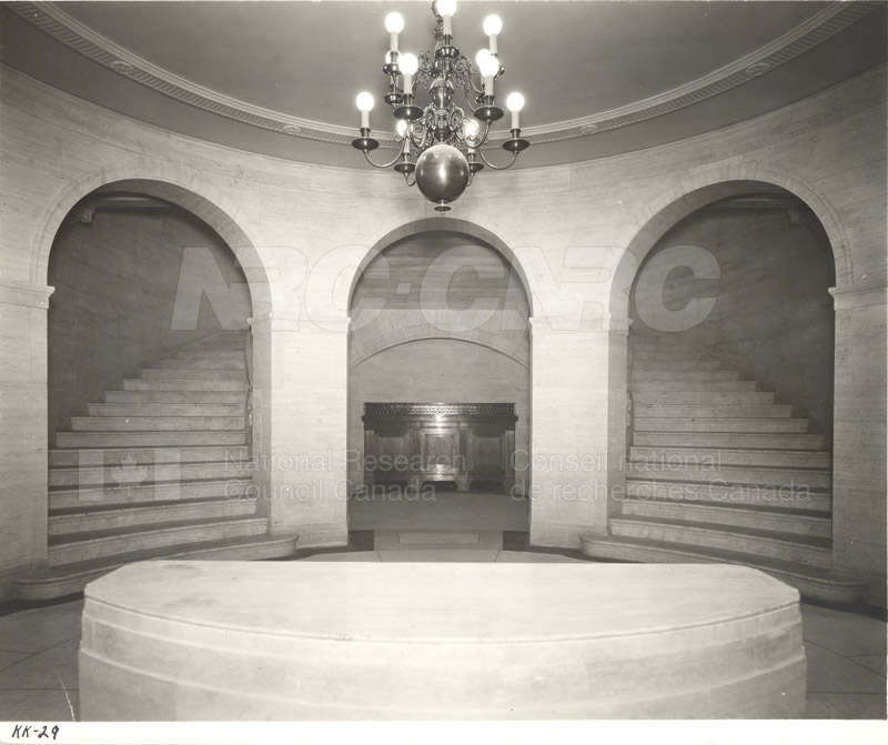 100 Sussex Drive- Lower Level Foyer (KK-29) 1932