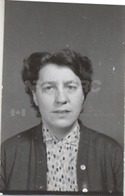 Photographs of Postdoctorate Issue 1957 027