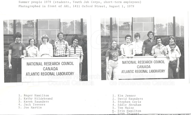 Summer Students 1979 001