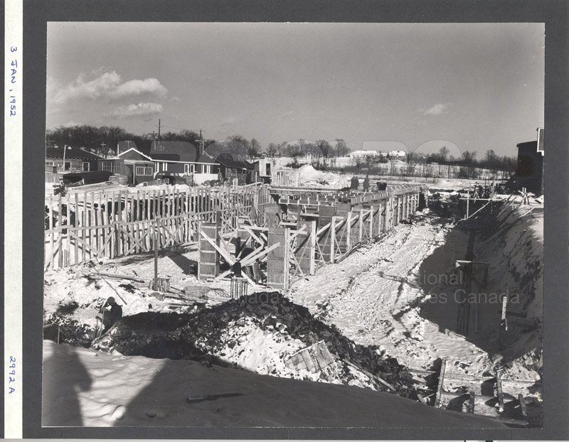 Construction of M-50 Jan. 3 1952 #2992 001
