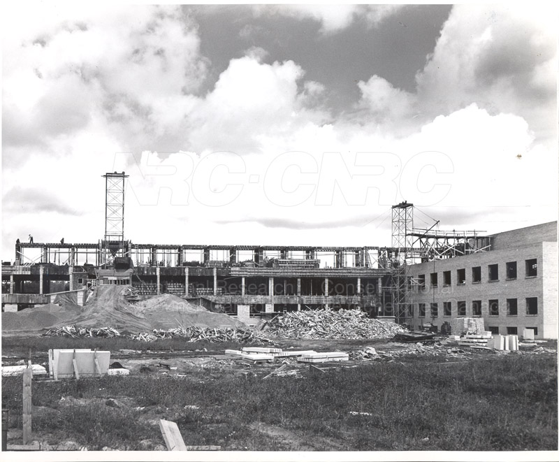 Administration Building Construction 1950s 022