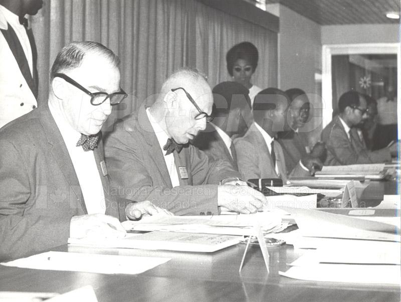 CSC Ghana- Dr. Ballard, Dr. Babbit 1966 002