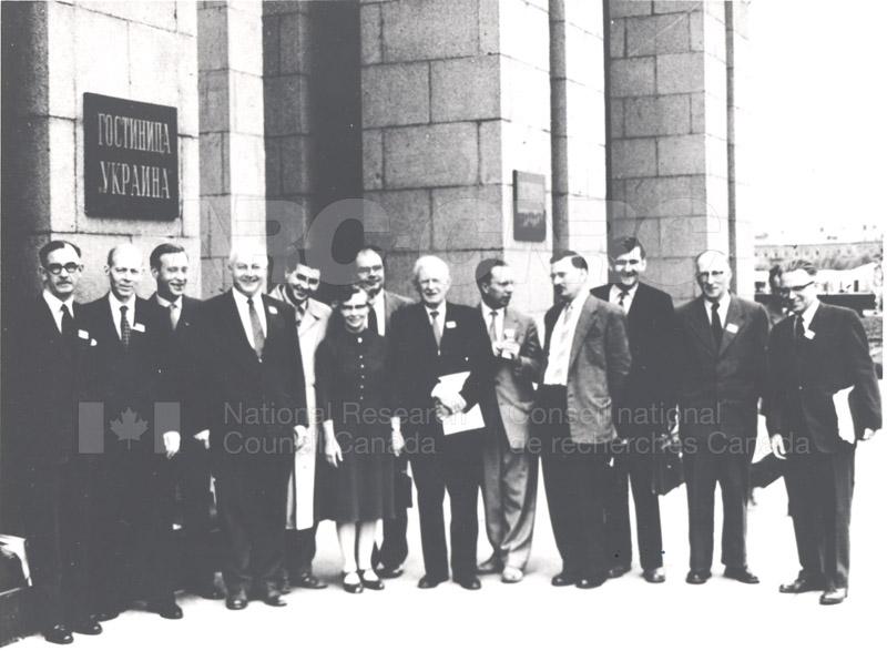 Gerhard Herzberg- Meeting of Spectroscopy Commission, Moscow c.1952