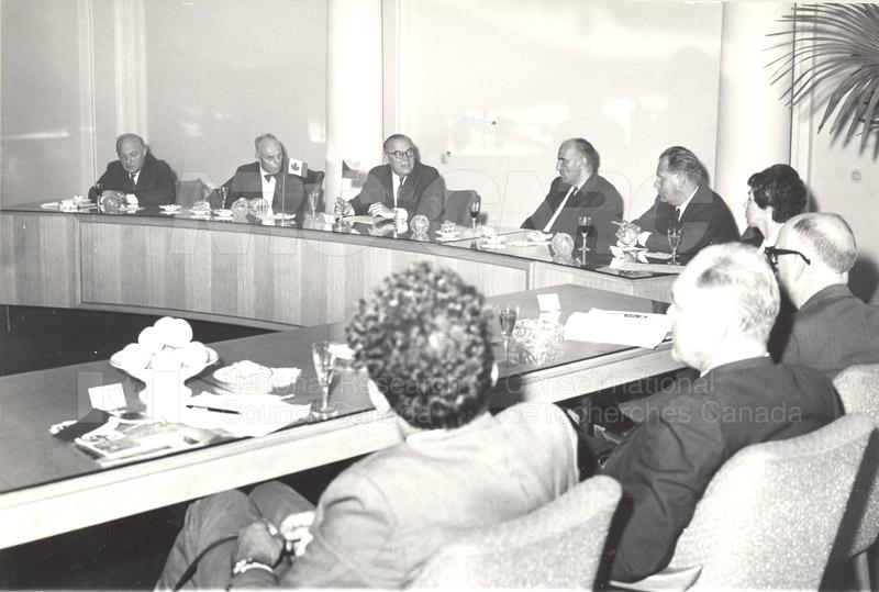 Academy of Science- Dr. Ballard and Dr. Jaroslavkozenik, Czechoslovakia 1966 004