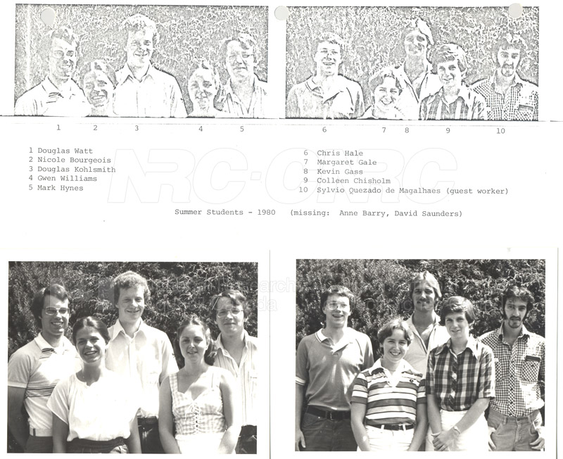 Summer Students 1980 003