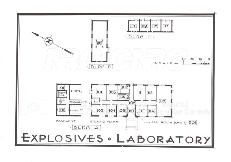 Buildings- Floor Plans Sept. 1948 007