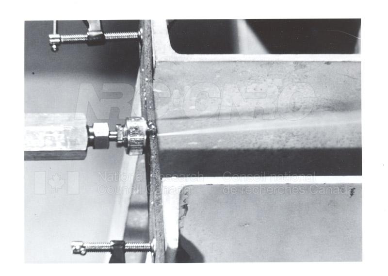 Gas Dynamics Laboratory- Cutting at Jet Spray 1968 004