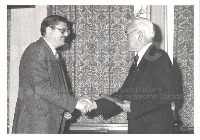 25 Year Service Presentations Nov. 1985 003