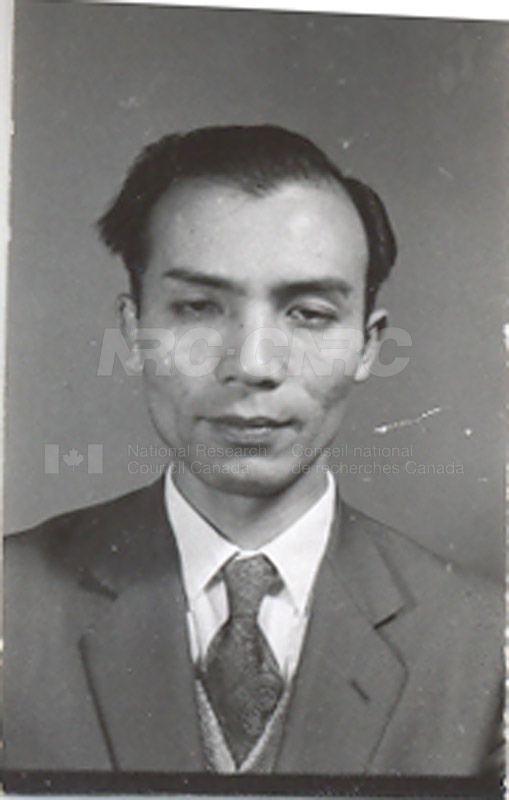 Photographs of Postdoctorate Issue 1957 036