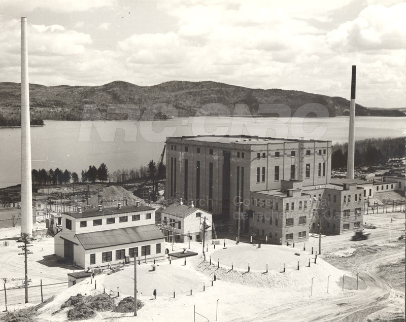 NRX Pile Building and ZEEP Building- Cooling Tanks 1945
