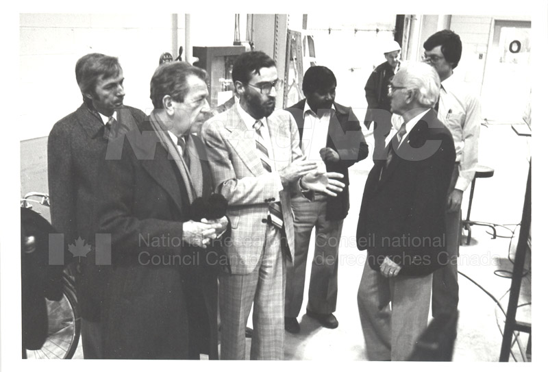 Corporate Services- Visit of French Ambassador Touring Hydraulics Lab 1981 002