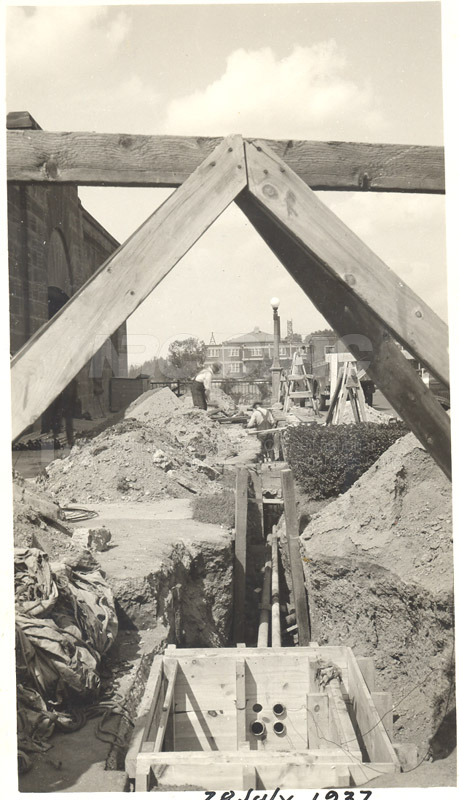 Installing Conduits 28 July 1937