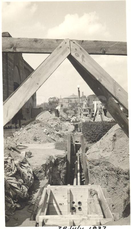 Installing Conduits 28 July 1937