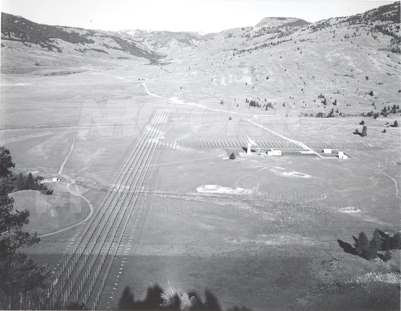 Dominion Observatory- Radio Telescope Oct. 4 1966