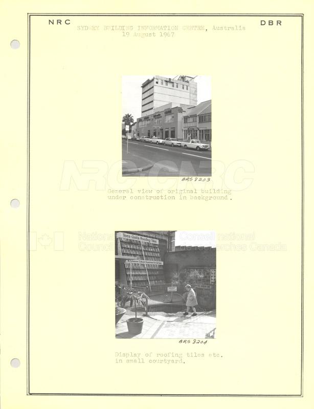 International Tour of Construction Sites- Dr. Legget 1967 024