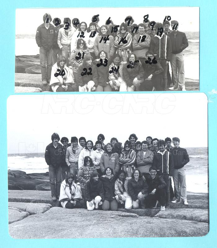 Summer Students 1982 002