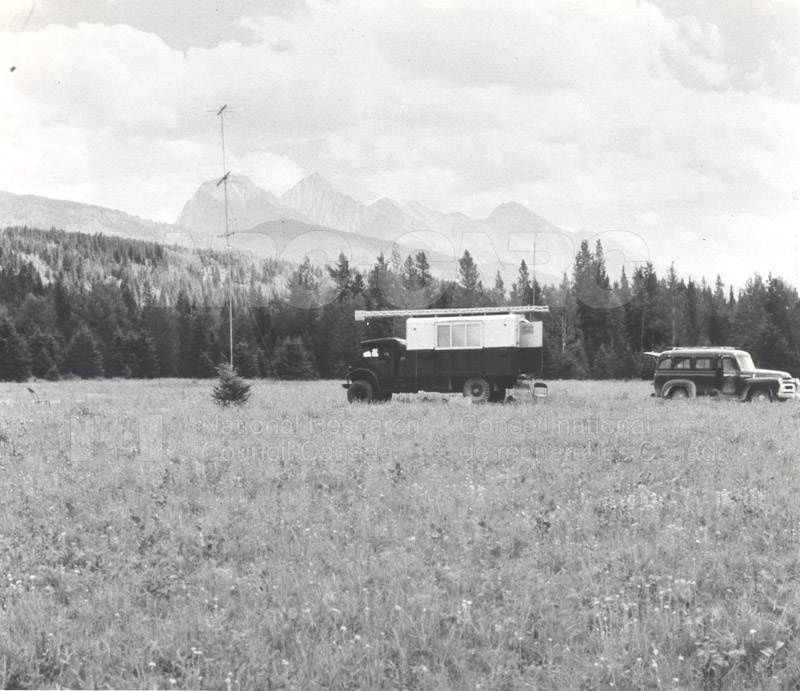 Radio Noise- Site in Kootenay Park B.C. 1958