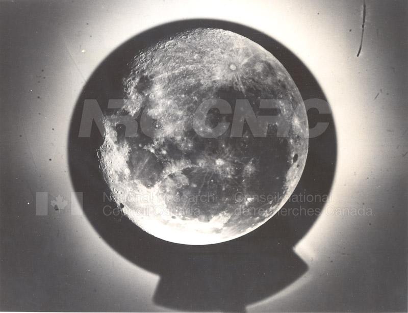 Photo of the Moon- Dominion Observatory- Markowitz Moon Camera 002