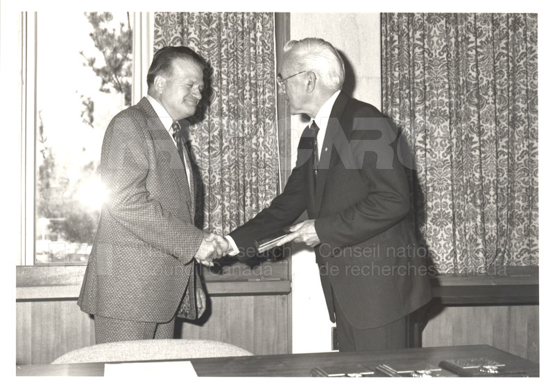 25 Year Service Plaques Presentations 1984 037
