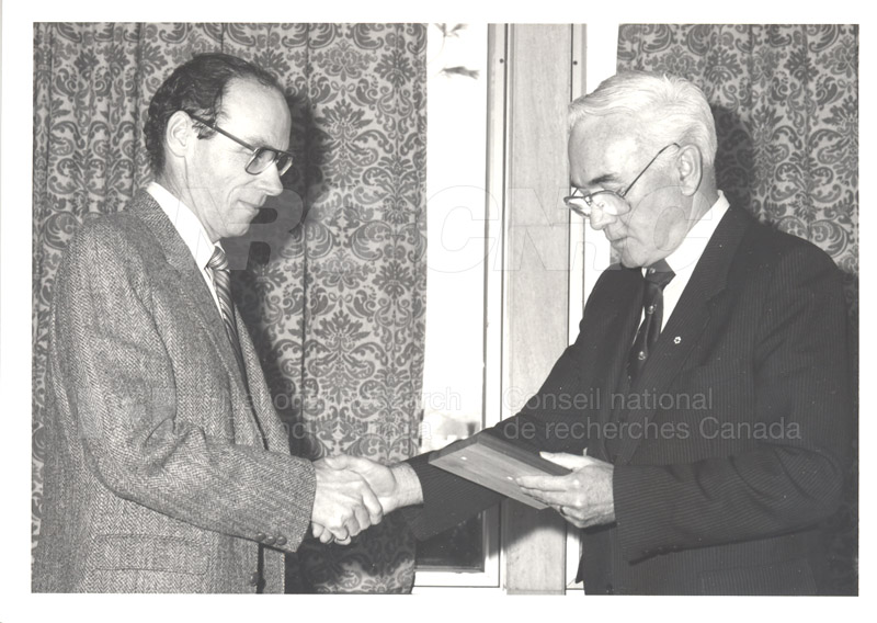 25 Year Service Presentations Nov. 1985 010