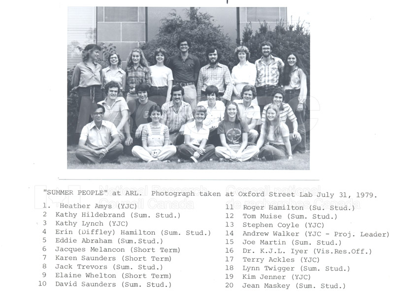 Summer Students 1979 007