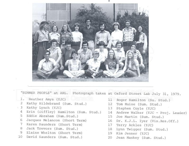 Summer Students 1979 007