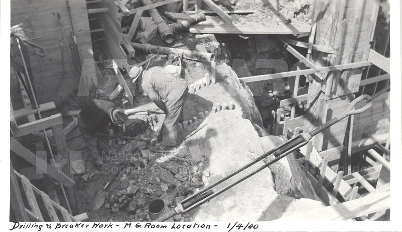 Administration and Wind Tunnels Construction 1940 019