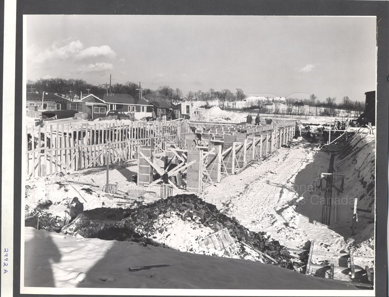 Administration Building Construction 1950s 003