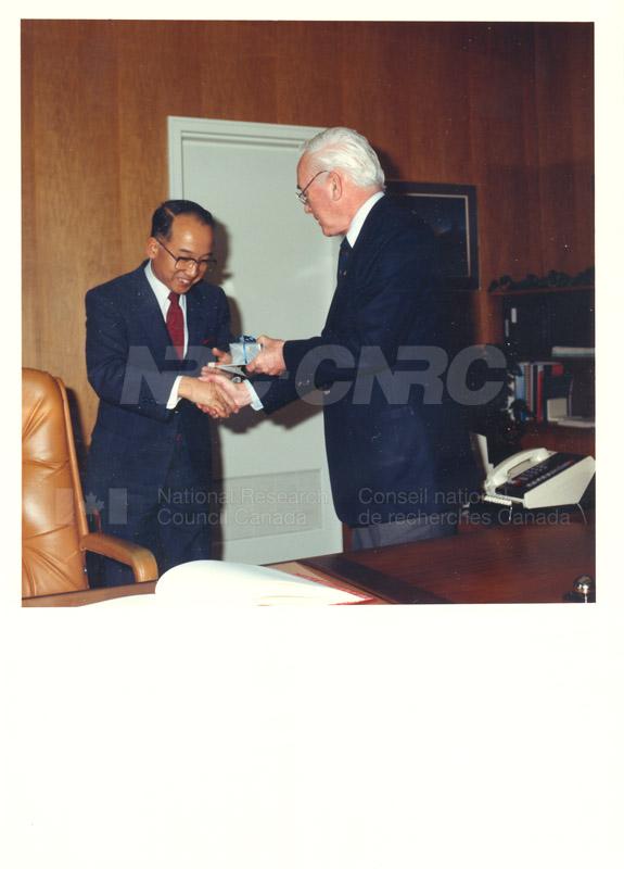 Dr. Sakamura - MITI Japan 1986 001