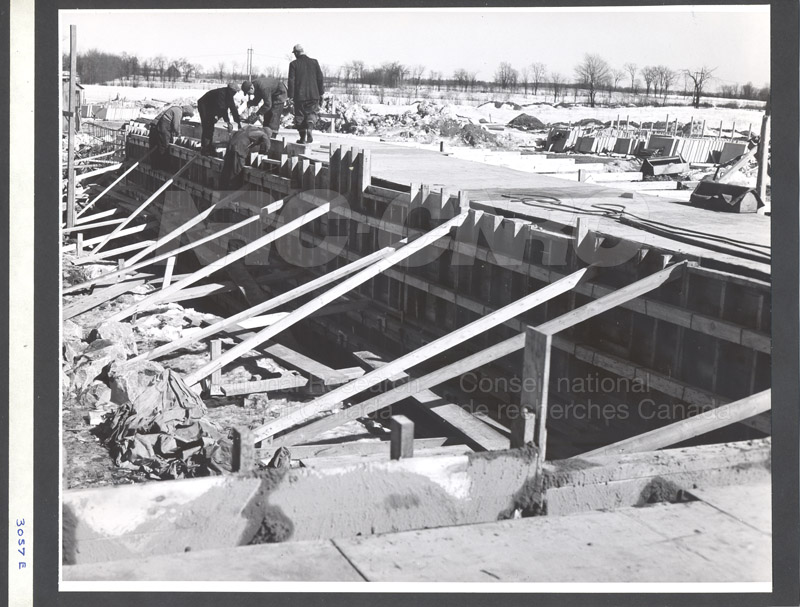Construction of M-50 Feb. 8 1952 #3029 006