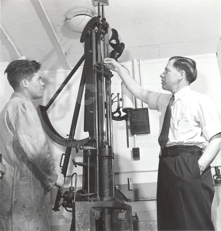 Rubber Section- T.R. Griffith and John Tyson Feb. 1948