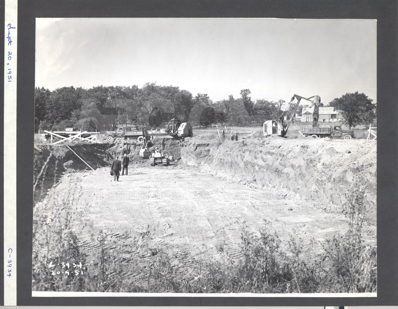 Construction of M-50 Sept. 20 1951 Photo C-3934