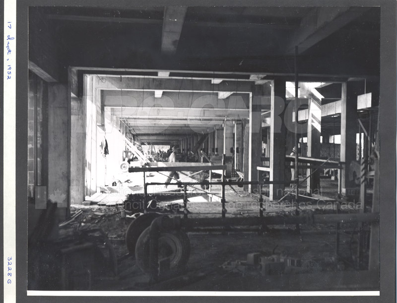 Administration Building Construction 1950s 017
