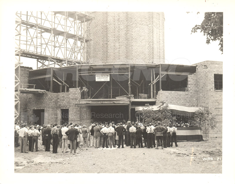 Aerodynamics Bldg -Annex- Laying the Cornerstone- July 25, 1940 008