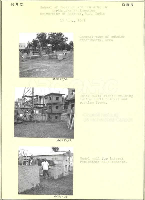 International Tour of Construction Sites- Dr. Legget 1967 007
