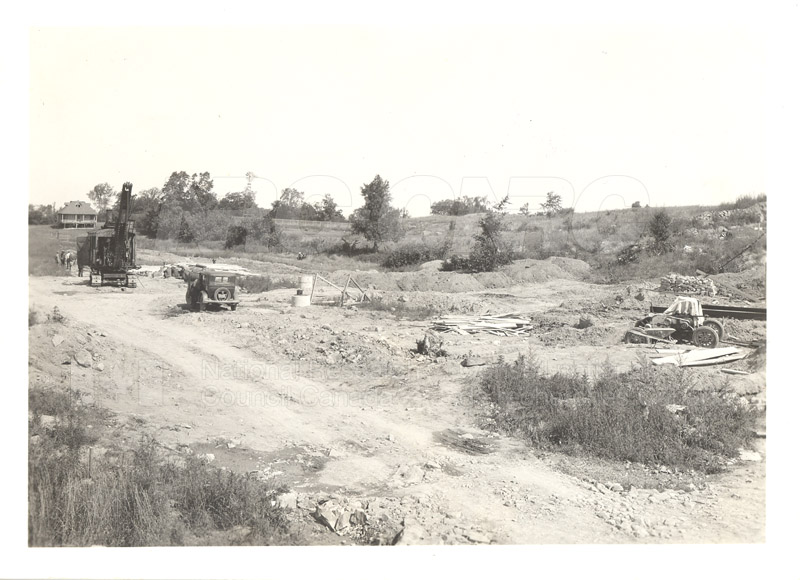 Montreal Road Expansion Site of NRC Engine Lab 1940