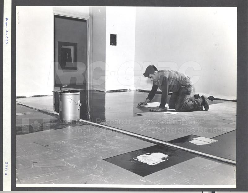 Construction of M-50 April 2 1953 #3381 003