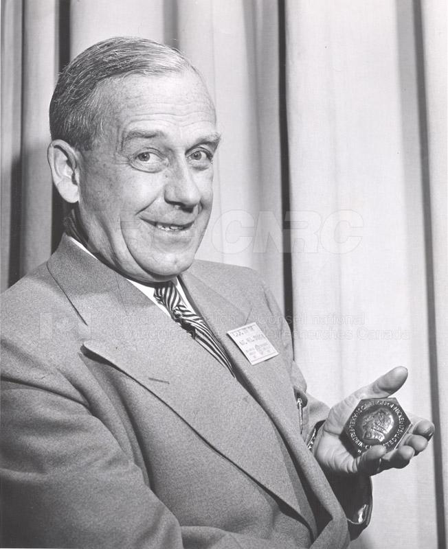 E.W.R. Steacie Receives Medal June 4, 1953 001