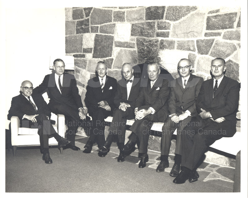 Canadian Patents & Development LMT Board of Directors June 1967, Jan. 1968 002