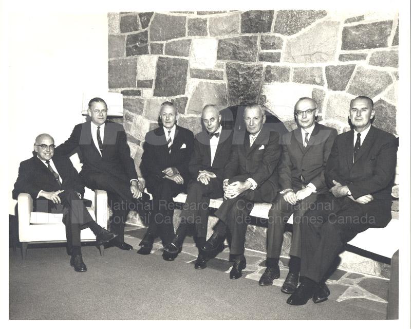 Canadian Patents & Development LMT Board of Directors June 1967, Jan. 1968 002