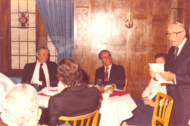 Farewell Dinner for W.G. Schneider 1980 003