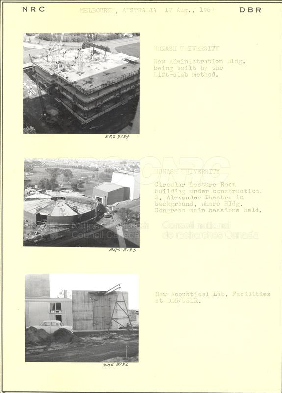 International Tour of Construction Sites- Dr. Legget 1967 018