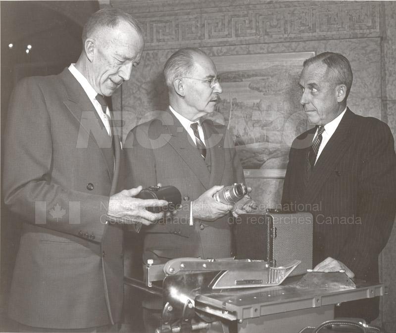 Retirement Dr. E.R. Birchard 1957