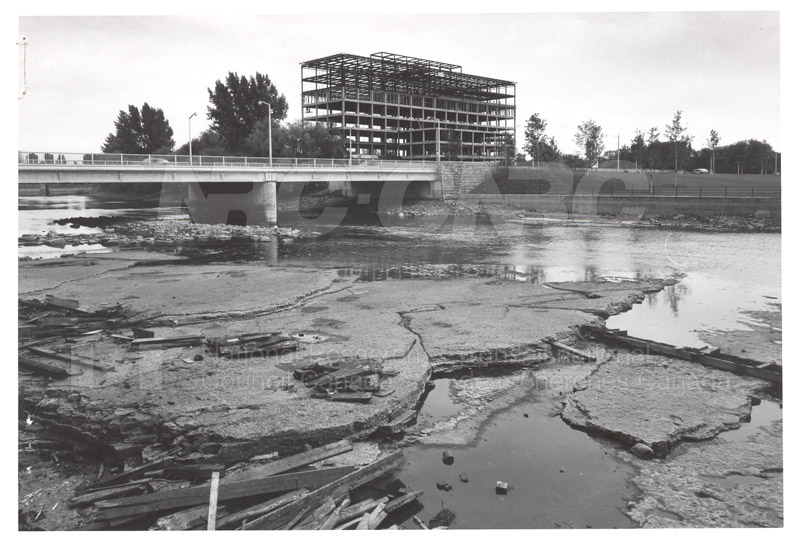 View of Rideau River 1957 002